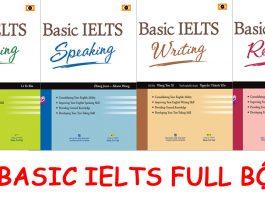 Basic IELTS listening reading speaking writing