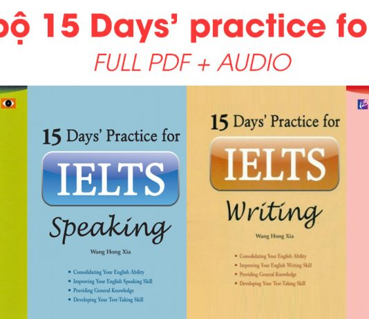 15 days Practice for IELTS