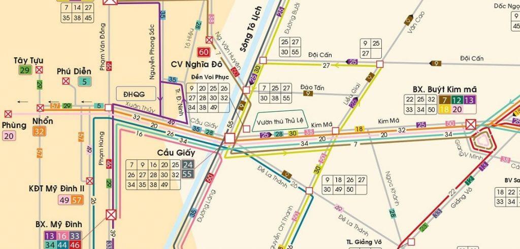 Bản đồ xe bus